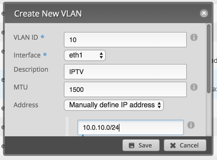 EdgeRouter VLAN isolation